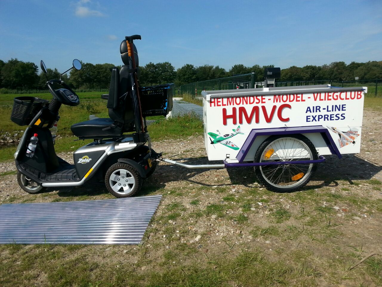 Het HMVC karretje