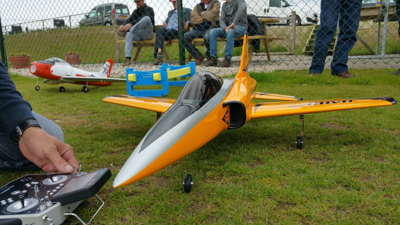 E-Flite Habu 32X met ducted fan