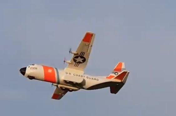 Hercules C-130 maiden flight